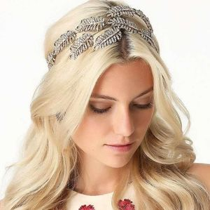 Bebe Gold Crystal Hair Piece